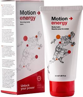 Comment ça fonctionne Motion Energy? Ingrédients.